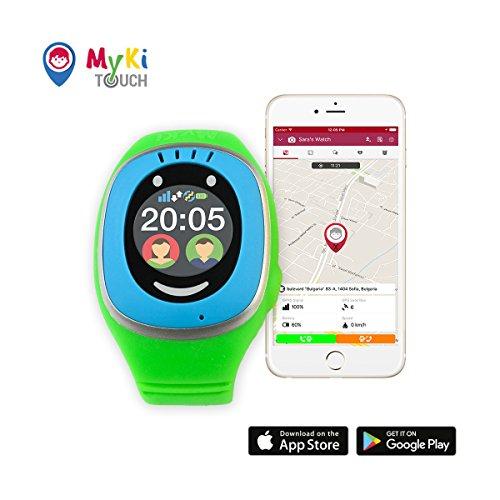 myki gps uhr kinder smartwatch mit gps tracker handy. Black Bedroom Furniture Sets. Home Design Ideas