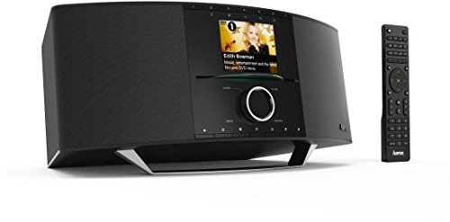 hama internetradio digitalradio mit cd player wlan lan dab ukw cd multiroom bluetooth usb. Black Bedroom Furniture Sets. Home Design Ideas