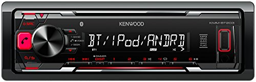 kenwood kmm bt203 digital media receiver mit bluetooth. Black Bedroom Furniture Sets. Home Design Ideas