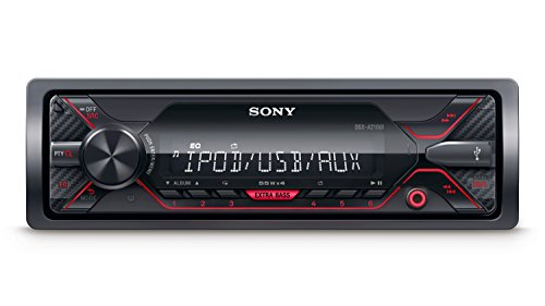 sony dsx a210ui mp3 autoradio mit extrabass usb aux. Black Bedroom Furniture Sets. Home Design Ideas