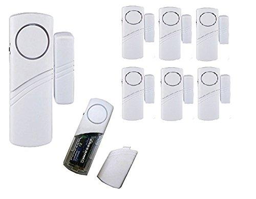 takestop kit alarmanlage mit bewegungsmelder sensor sirene 105 db 2 fernbedienungen halterung. Black Bedroom Furniture Sets. Home Design Ideas