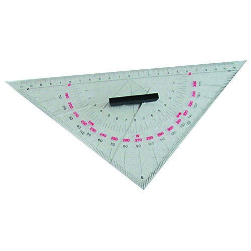 26cm navigation dreieck navyline kursdreieck klein catille for Stabile dreiecke