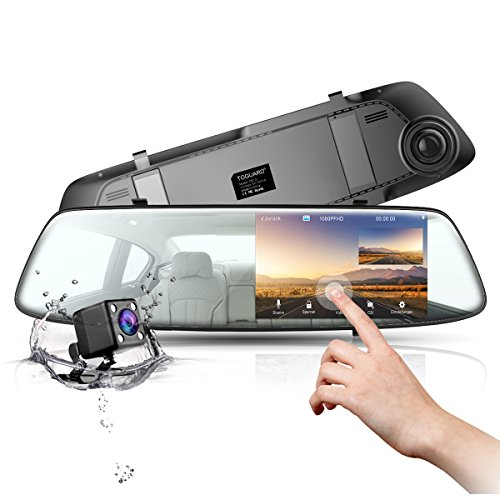 auto kamera r ckfahrkamera mit r ckspiegel monitor dashcam. Black Bedroom Furniture Sets. Home Design Ideas