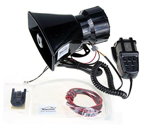 kkmoon 12v 3 zoll automotive luftangriff sirene horn auto. Black Bedroom Furniture Sets. Home Design Ideas